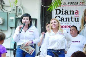 Promete Carmenlilia ser  diputada para el pueblo