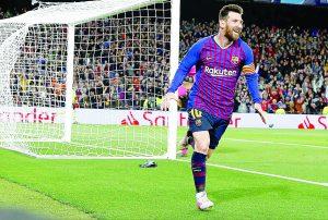 Lionel Messi llega a 600 goles en su  carrera