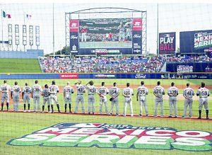 Inicia AMLO programa de beisbol en escuelas