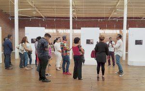 Presenta Eduardo Luzuriaga su arte con conciencia