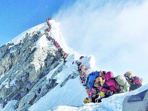 Al alza número  de muertes en el Monte Everest