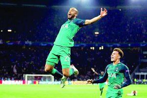 Tottenham deja fuera en Ámsterdam al Ajax en duelo 'IN EXTREMIS'