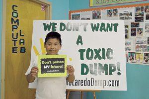 Sigue la lucha contra basurero