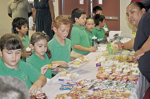 Comienza el programa de nutrición a menores