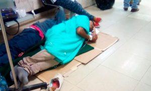 Paciente es atendida en el suelo en IMSS de Tampico