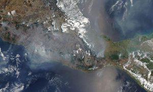 EN VIVO: Así se ven los incendios en México desde satélites de la NASA
