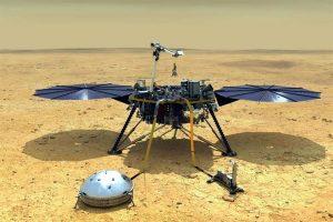 Detectan 'aparente' sismo en Marte