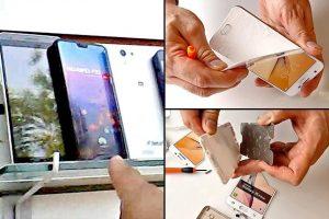 Mexicanos compran celulares falsos para engañar a los ladrones