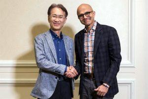 Se alían por gaming Sony y Microsoft