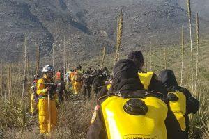 Controlan 30% de incendio en la Sierra Madre