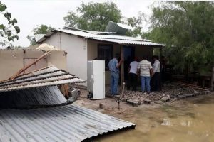 Daña tornado 10 viviendas en San Fernando