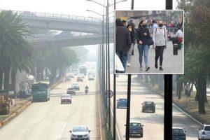 No cede polución en CDMX