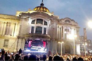 Pide AMLO ser tolerante con evento en Bellas Artes