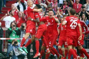 Logra Bayern título de manera emotiva