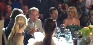 VIDEO: Reaparecen en boda Peña Nieto y Tania Ruiz