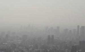 Captan de nueva cuenta bruma y contaminación en CDMX desde drone