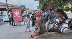 Escala conflicto de taxis en Matamoros; mantienen cierre de vialidades