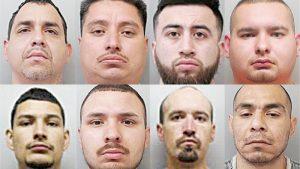 Ejecutan 8 arrestos  pendientes