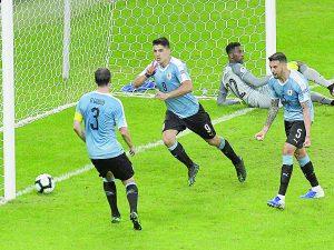 Saca Uruguay la garra