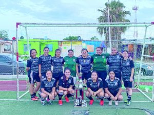 Con gran actuación de Yuridia Méndez, Yuris Team obtiene título de Liga NLD