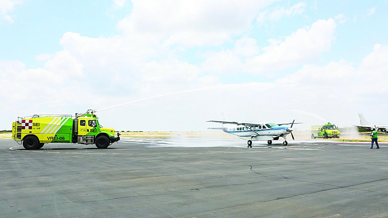 Llega Taxi aéreo a Nuevo Laredo