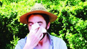 Crecen consultas por alergias 50%