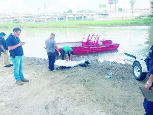 Rescatan víctima 13 del río Bravo