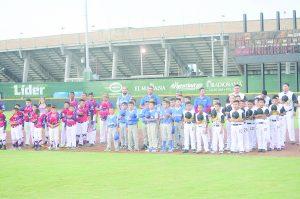 Con emotiva ceremonia, liga Sertoma pone en marcha torneo Nacional de la Categoría 9-10 años; hoy toca turno a locales