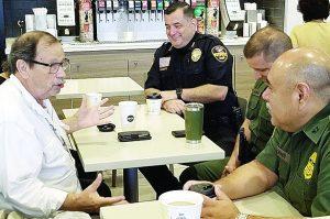 Preparan 'Café  Con Los Policías'