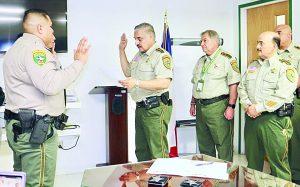 Gradúan 4 nuevos alguaciles en Webb