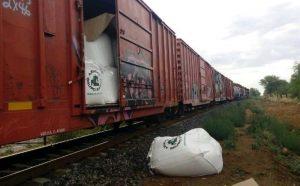 Sufre sistema de trenes en Tamaulipas vandalismo