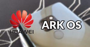 Así luce Ark OS, el nuevo sistema operativo de Huawei