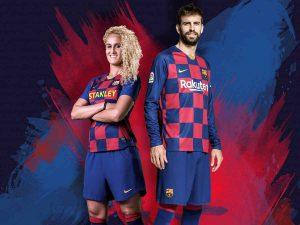 Barcelona presenta su nueva camiseta