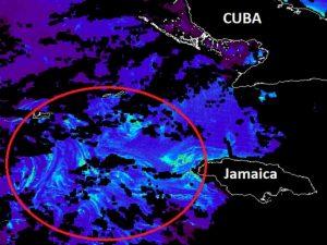 Satélites detectan 'enorme' mancha de sargazo; llegaría a Cancún