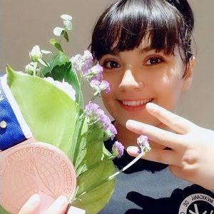 Alexa Moreno gana medalla de bronce en Corea