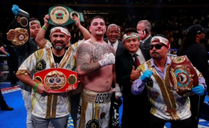 Andy Ruiz, el mexicano que nació en el boxeo sin respeto