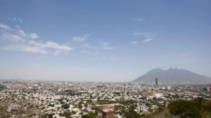 Nube con arena del Desierto de Sahara va con dirección a Monterrey