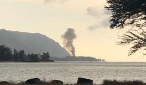 Mueren 9 personas al estrellarse avión en Hawái