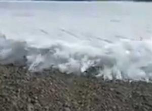 Enorme tsunami de hielo sorprende a los habitantes de Rusia