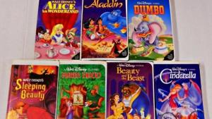 Venden VHS de Disney en 40 mil pesos