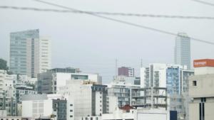 FOTOS: Llega arena del Sahara a Monterrey; la calidad del aire es regular