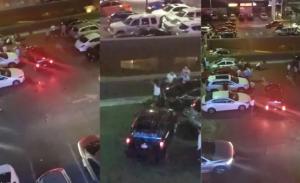 Captan riña en la que usan camioneta para atropellar en Monterrey