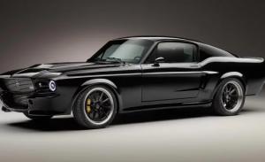 Presentan Mustang eléctrico más poderoso que el original