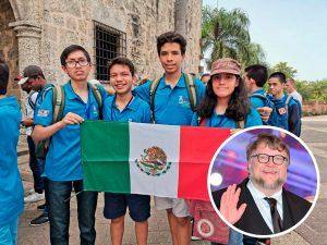 Niños que fueron apoyados por Del Toro, ¡ganan oro en Olimpiada de Matemáticas!