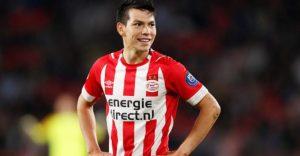 El PSV aumenta el precio de Hirving Lozano