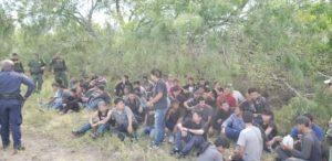 Detienen a 110 indocumentados en Texas