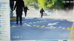 Revelan video de los instantes después del choque de Joao Maleck