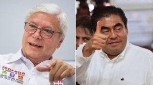 Morena gana gubernaturas de Puebla y Baja California