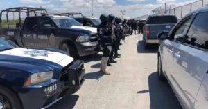 Blinda PF puente internacional de Reynosa