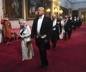Trump, en el Palacio de Buckingham